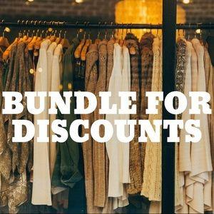 Bundle For Discounts!!
